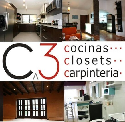 C 3 cocinas closets y carpinteria general en monterrey for Closet economicos en monterrey
